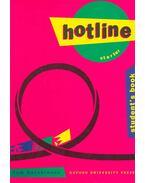 Hotline Starter student's book