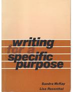 Writing for a Special Purpose