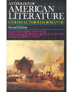 Anthology of American Literature – I.Colonial through Romantic