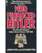 Who Financed Hitler