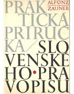Prakticka priricka slovenskeho pravopisu