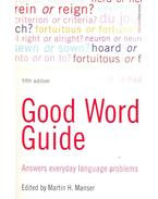 Good Word Guide – Answers Everyday Language Problems