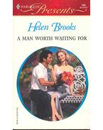A Man Worth Waiting For