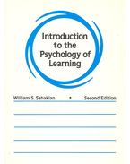 Introduction to the Psychology of Learning