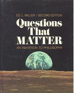Questions That Matter – An Invitation to Philosophy