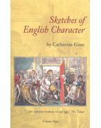 Sketches of English Character – Vol,1
