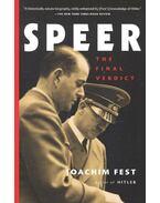 Speer – The Final Verdict