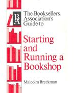 Starting and Running a Bookshop