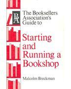 Starting and Running a Bookshop