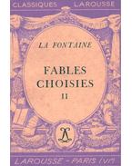 Fables choisies, II