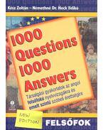 1000 Question 1000 Answers – Felsőfok