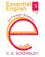 Essential English 3 – Students' Book