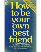 How to Be Your Best Friend