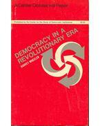 Democracy in a Revolutionary Era