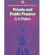 Private and Public Finance