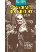 Von Craig bis Brecht – Studien zu Künstlertheorien