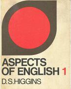 Aspects of English 1.