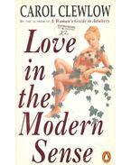 Love in the Modern Sense