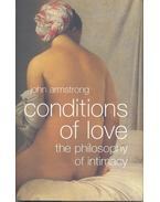 Conditions of Love – The Philosophy of Intimacy