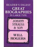 The Waltz Kings, KETCHUM, RICHARD: Will Rogers