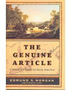 The Genuine Article – A Historian Looks at Early America