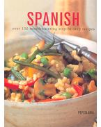 Spanish – Over 150 Mouthwatering Step-By-Step Recipes