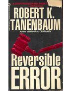 Reversible Error