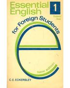 Essential English for Foreign Students #1 – Student's Book