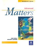 Matters – Advanced Students' Book
