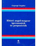 Eltérő angol-magyar igevonzatok és prepozíciók