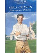 Marriage at a Distance - Craven, Sara