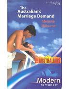 The Australian's Marriage Demand