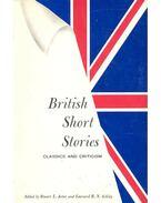 British Short Stories – Classics and Criticism