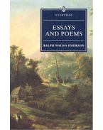 Essays and Poems - Emerson, Ralph Waldo