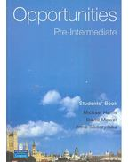 Opportunities Pre-Intermediate – Student's Book