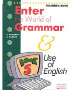 Enter the World of Grammar – Teacher's Book