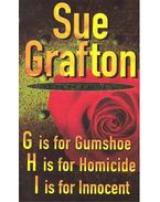 Omnibus – G is for Gumshoe; H is for Homicide; I is for Innocent