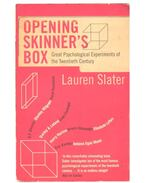 Opening Skinner's Box – Great Psychological Experiments of the Twentieth Century