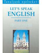 Let's Speak Englis – Part One