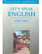 Let's Speak English – Part Two