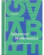 Advanced Mathematics – An Incrementel Development