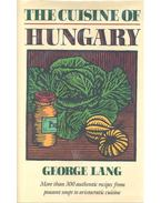 The Cuisine of Hungary - Lang, George