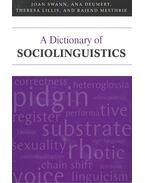A Dictionary of Sociolinguistics