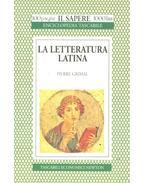 La letteratura latina
