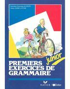 Premiers exercices de grammaire – junior