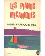 Les pianos mecaniques