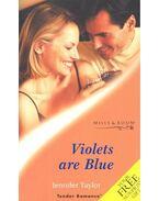 Violets are Blue - Taylor,Jennifer