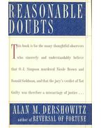 Reasonable Doubts: The Criminal Justice System and the O. J. Simpson Case