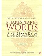 Shakespeare's Words – A Glossary and Language Companion