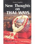 New Thoughts on Thai Ways